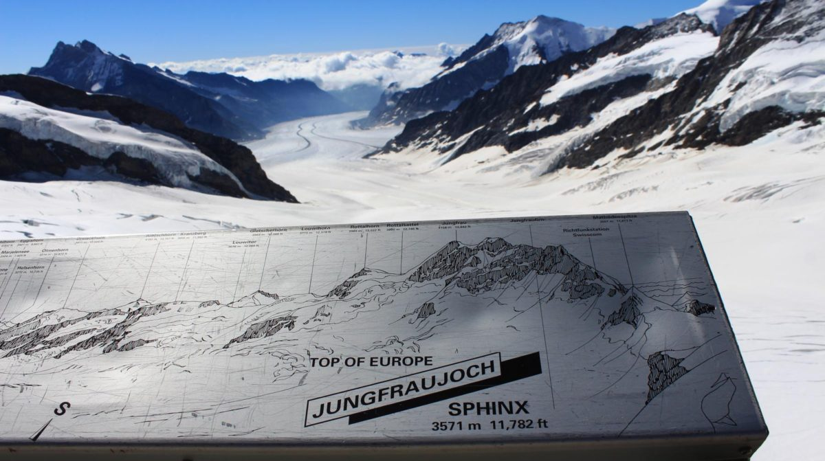 jungfraujoch - top of europe - schweiz - berner oberland